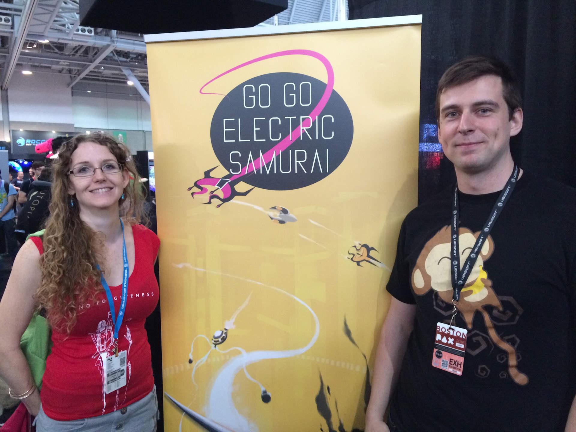 Michael Todd of GoGo Electric Samurai