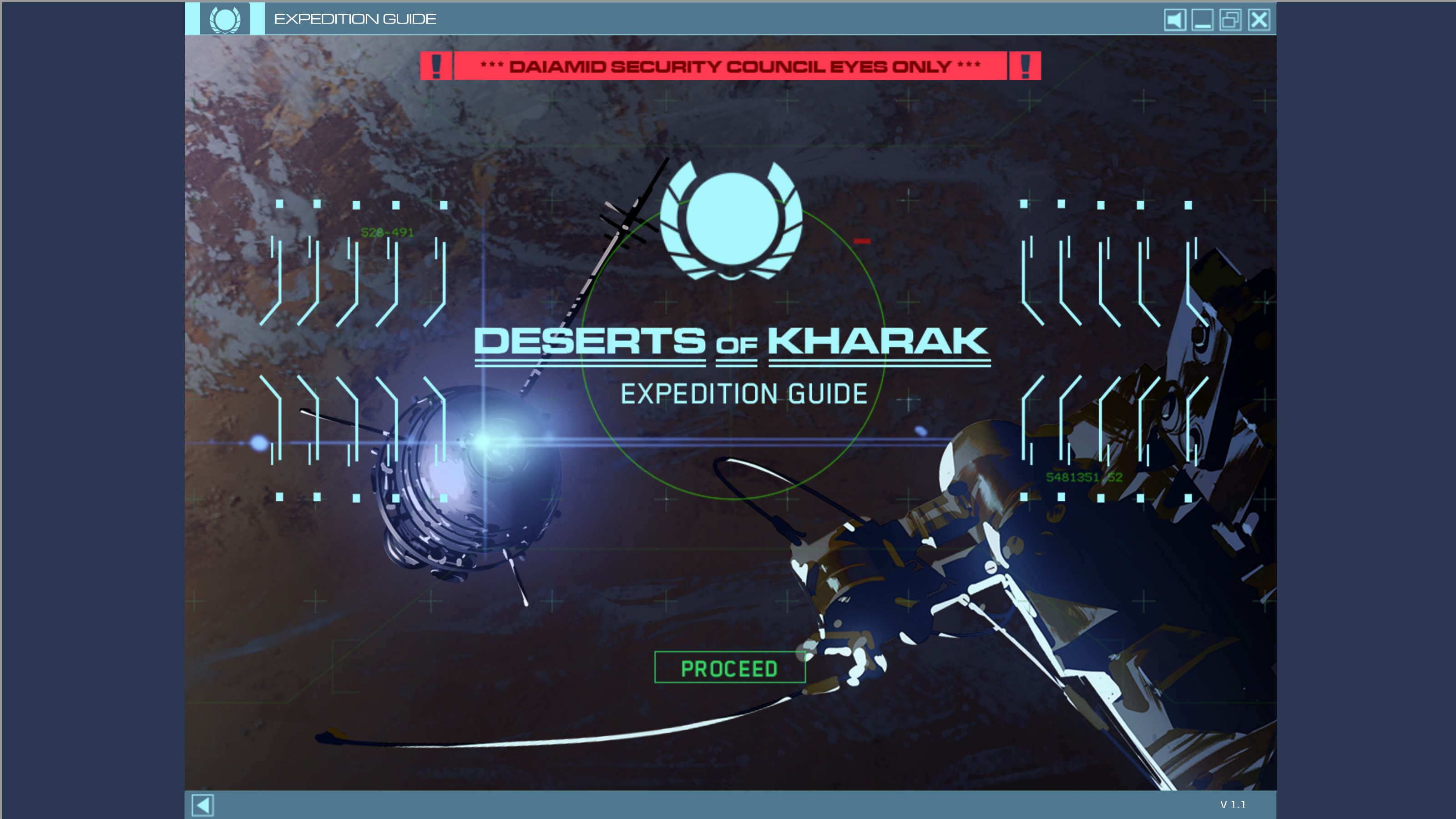 Homeworld Deserts of Kharak Expedition Guide Screenshot 1