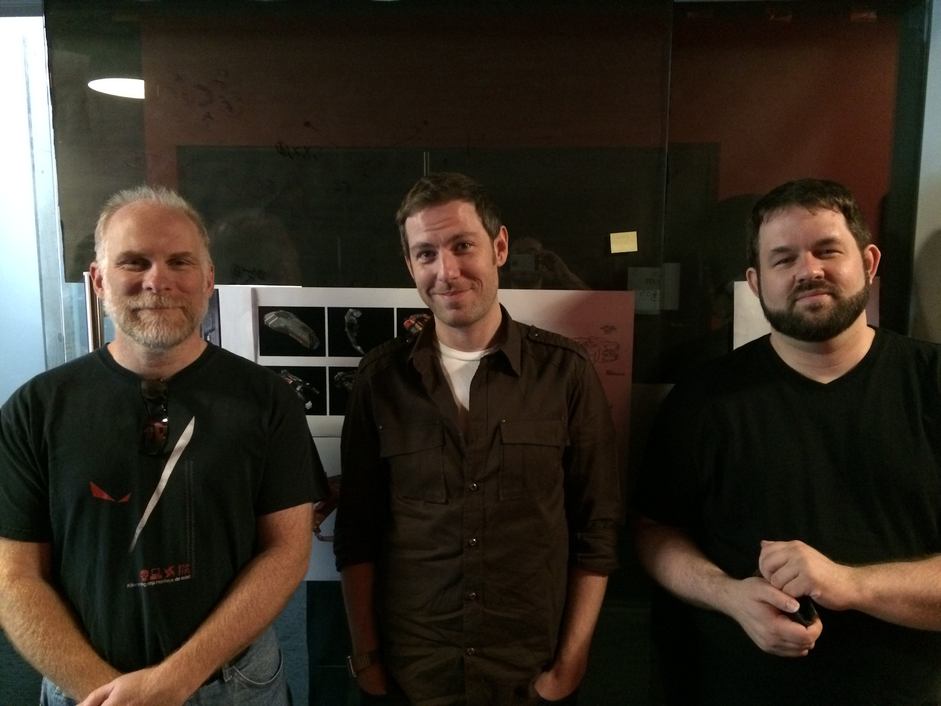 Gearbox Homeworld Team - Patrick Brian Dave
