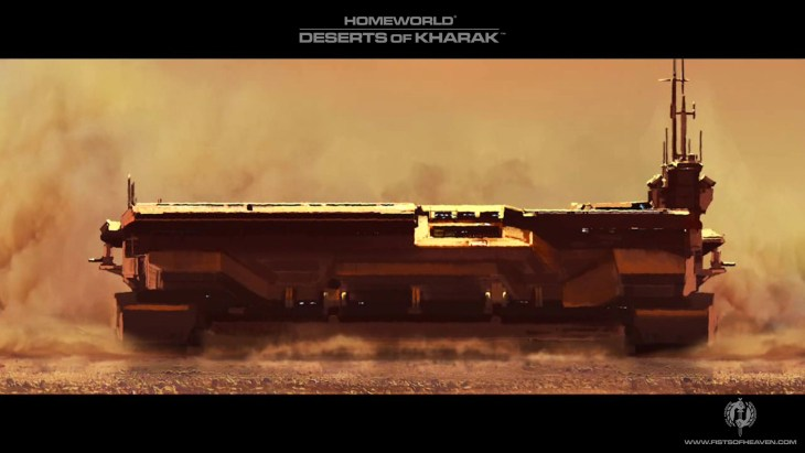 Homeworld Deserts of Kharak Wallpaper - Fists of Heaven - 8