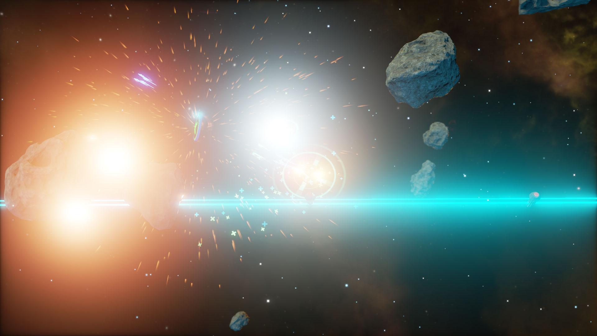 Procedurally Generated Quasar 5