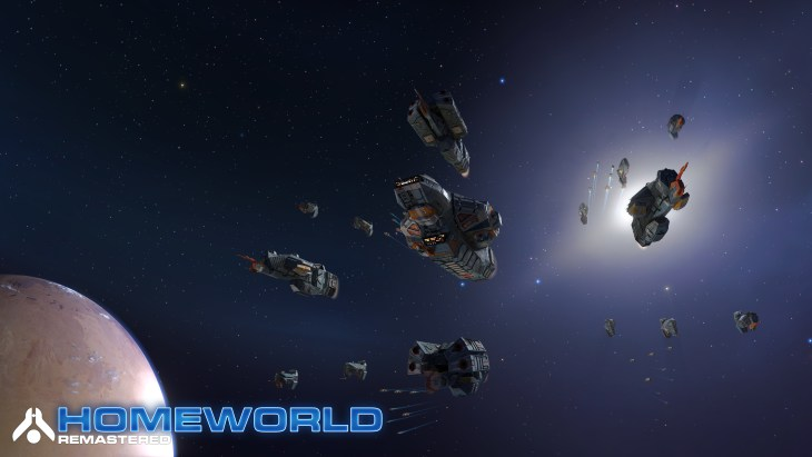 Homeworld Remastered - Screenshot - Kushan Fleet - Gearbox