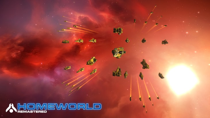 Homeworld Remastered - Screenshot - Taiidan Fleet - Gearbox