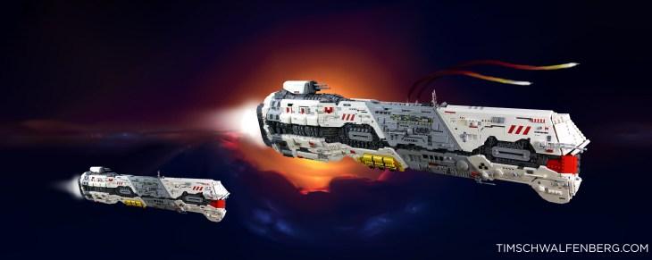 Lego Vaygr Battlecruiser - Tim Schwalfenberg