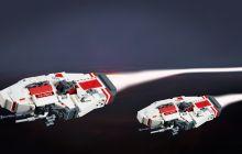 Lego Vaygr Corvette Header Image - Tim Schwalfenberg
