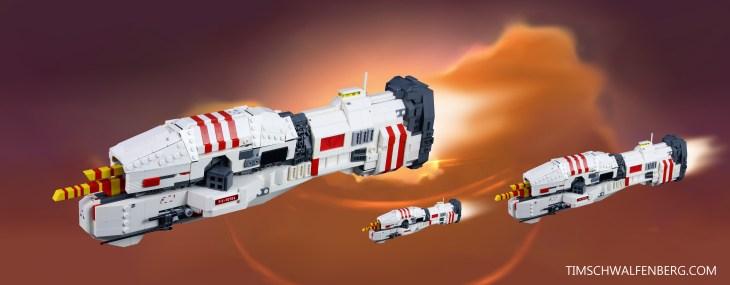 Lego Vaygr Frigate - Tim Schwalfenberg