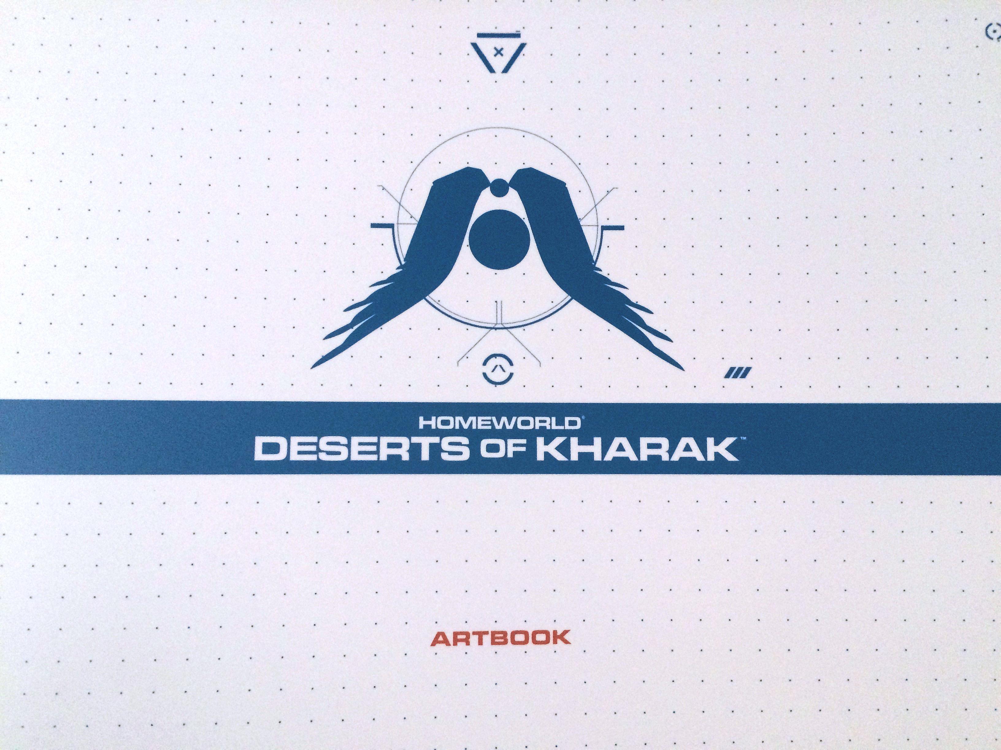 Homeworld Deserts of Kharak Collector's Edition Art Book