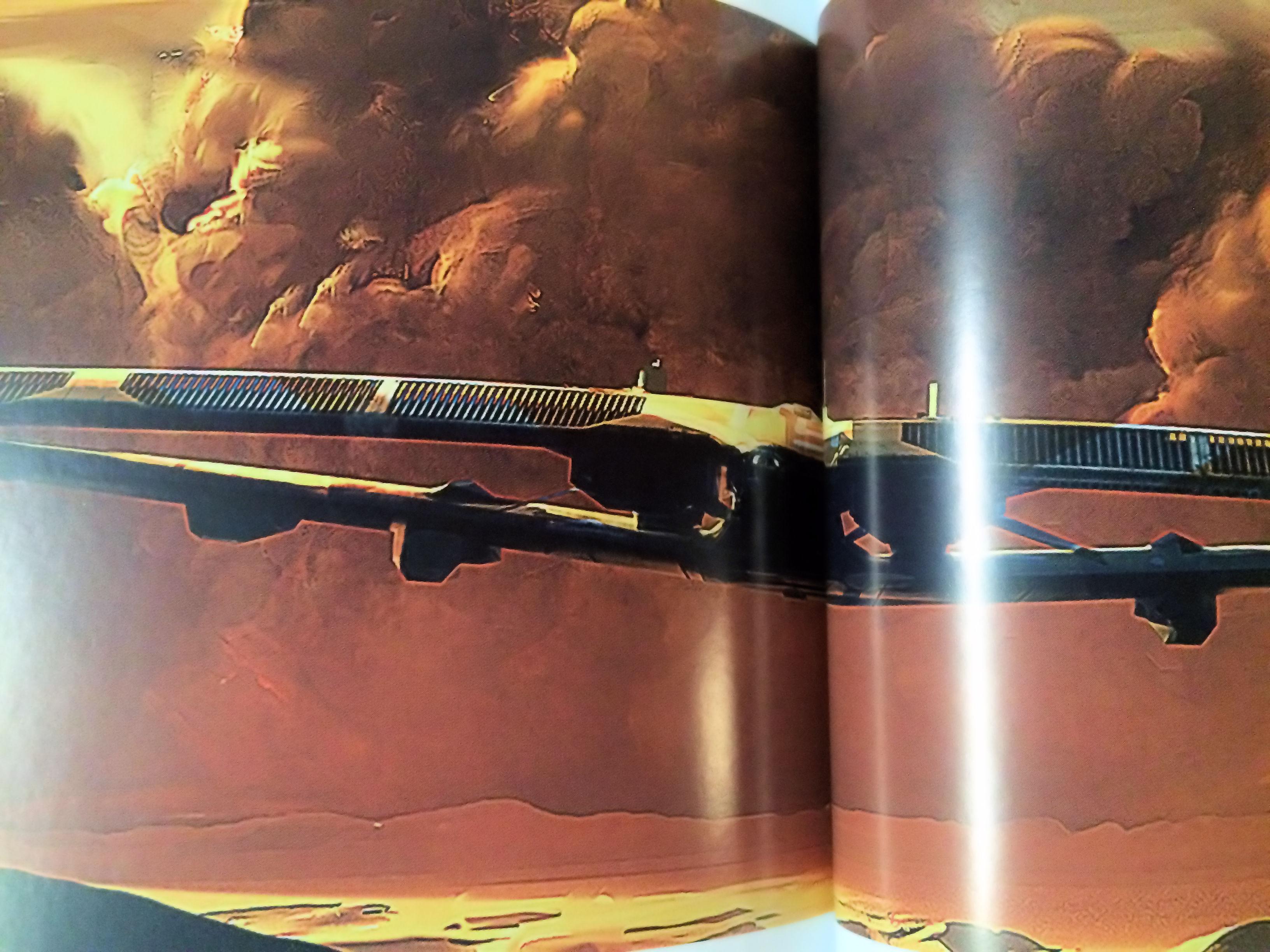 Homeworld Deserts of Kharak Collector's Edition Concept Art - Desert Drop Ship