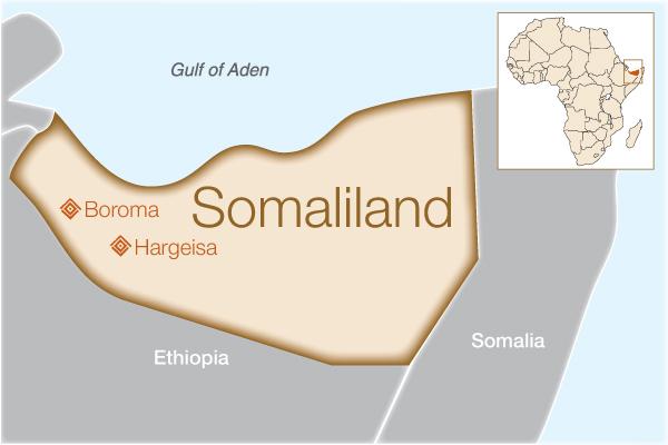 Fistula Foundation: Somaliland - Map