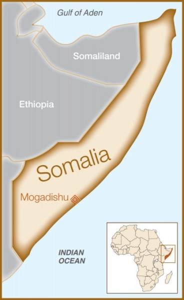 Fistula Foundation Map: Somalia