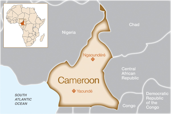Cameroon where we help fistula foundation facts about cameroon ccuart Image collections
