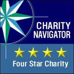 Charity Navigator - Four Star Charity 125x125