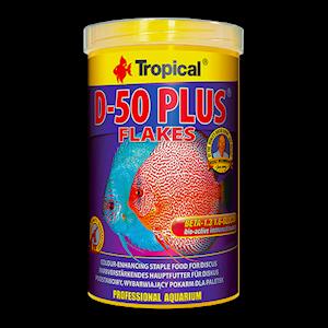 Tropical D50 plus flakes