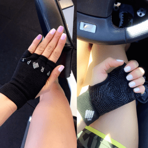 Gloves are great for preventing calluses inside your hands