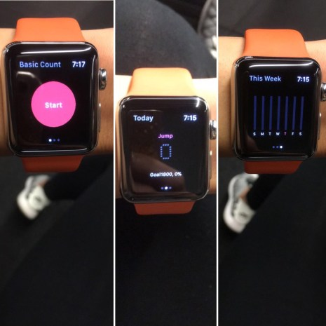 Smart Gym Pro App Watch View