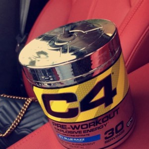 'C4 PRE-WORKOUT' by Cellucor in 'Icy Blue Razz'