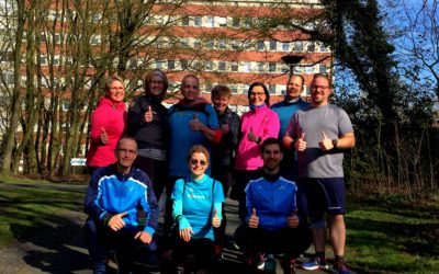 24.03.2019 Fit2Run-Läufer beim 9. Charitylauf in Hamm