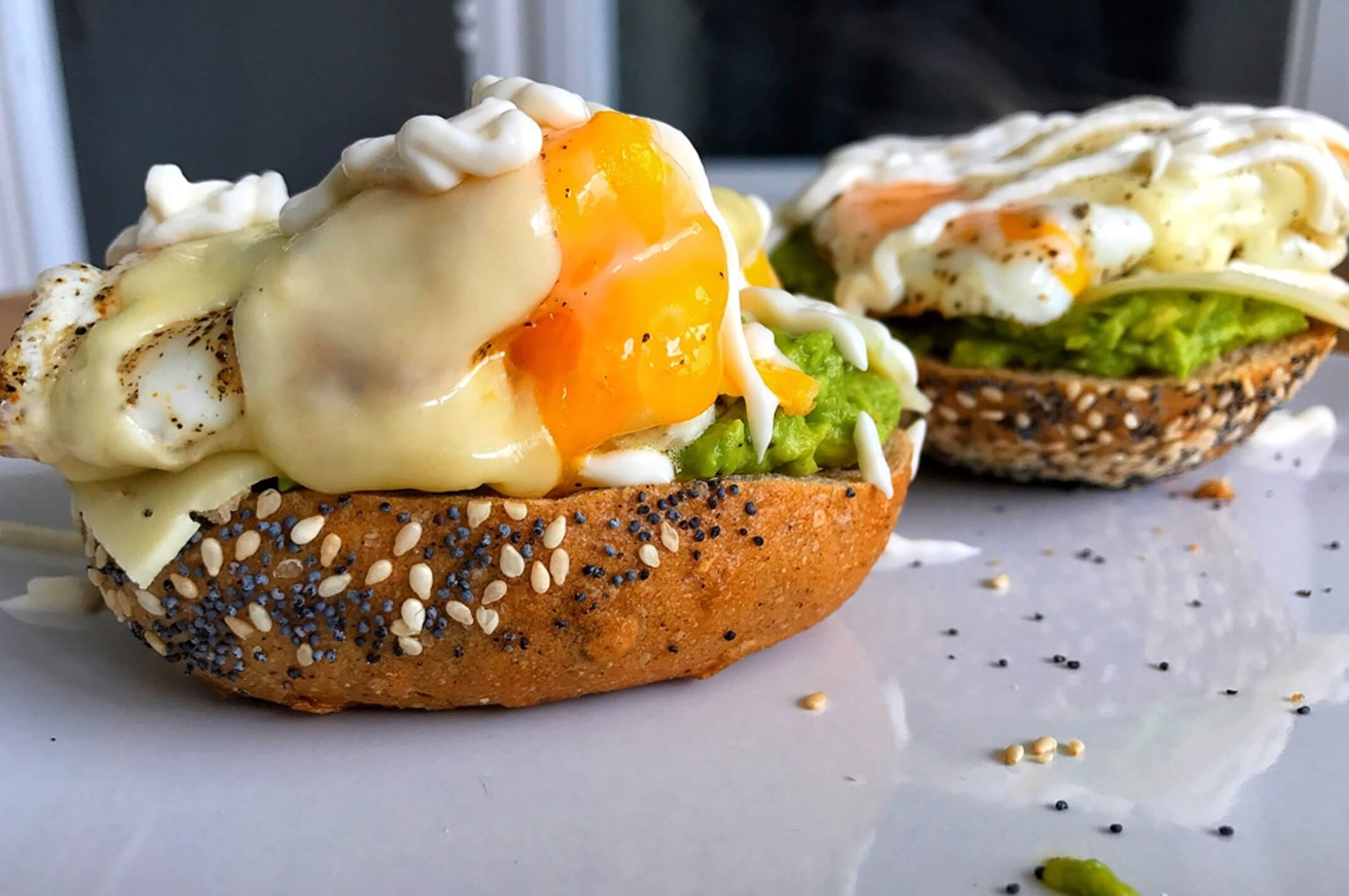 Wonderbaarlijk Recept: Broodje Avocado met Ei en Kaas! - Fit Addict IK-91