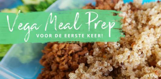 vegetarische meal prep