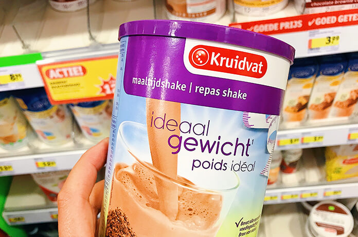 voedsel vervangende shakes