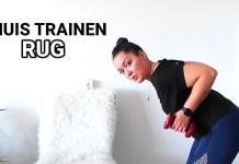 thuis trainen rug