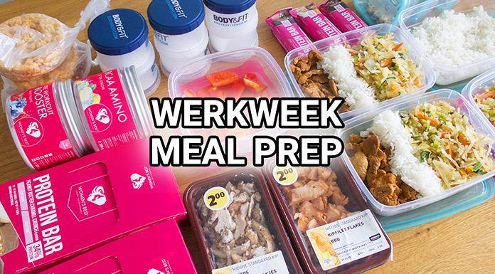 werkweek meal prep