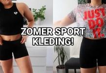 zomer sportkleding