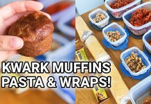 kwark muffins bakken