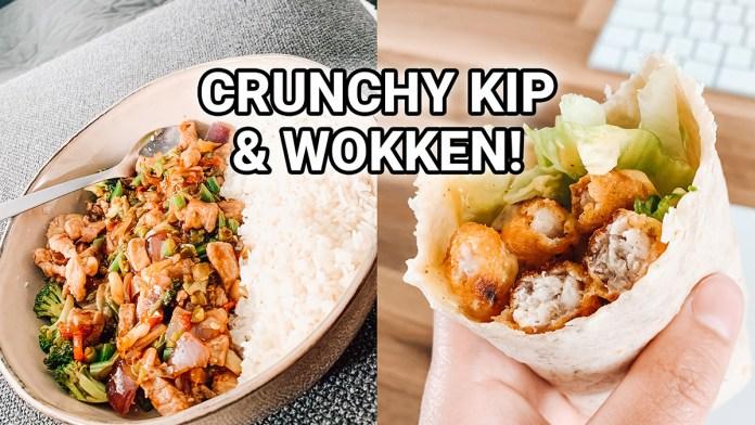 crunchy kip lunch wrap