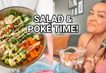Poké bowl met zalm