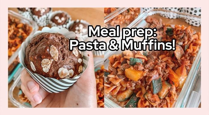 meal prep pasta