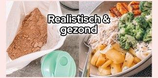 realistisch voedingspatroon