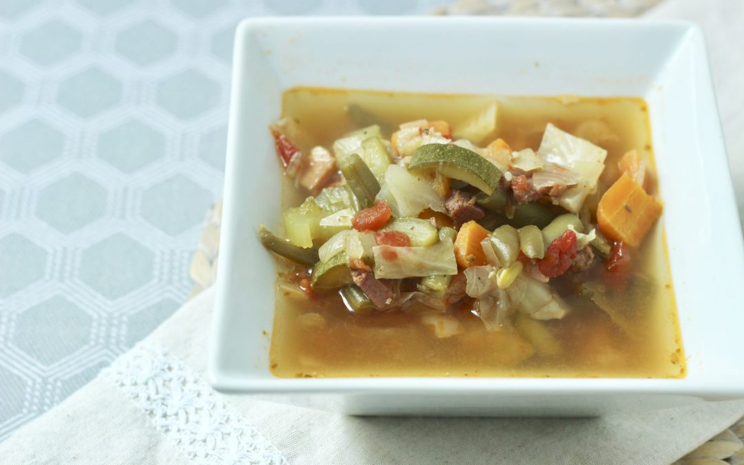 Spicy Cabbage Soup