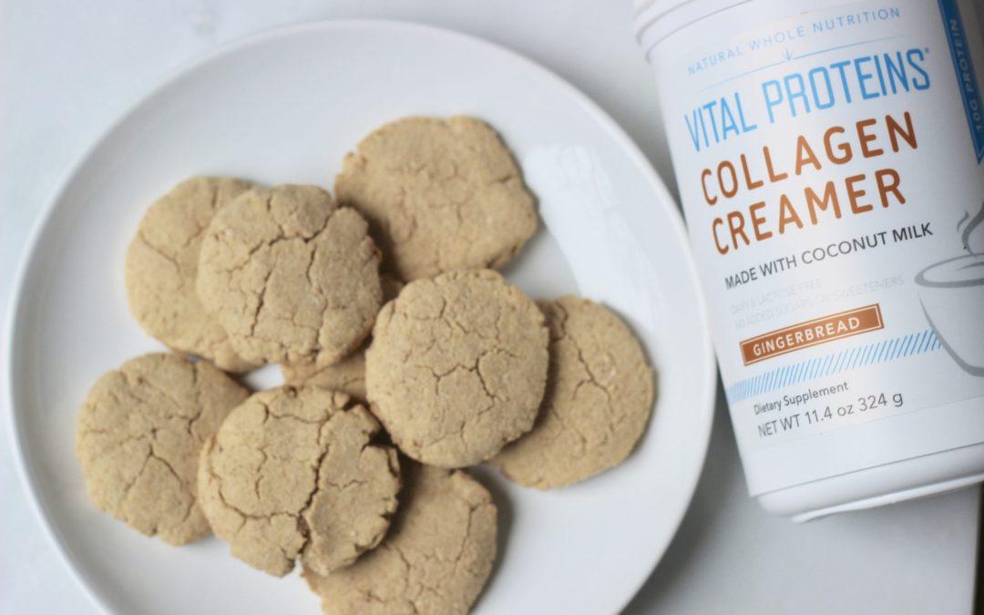 Healthy & Gluten-Free Gingerbread Cookies
