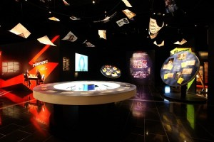 Outrageous Fortune – The Exhibition, War Memorial Museum, Auckland, New Zealand