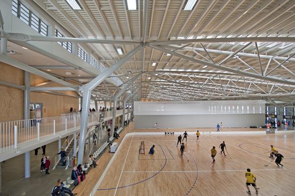 Wellington Indoor Community Sports Centre, Wellington, New Zealand