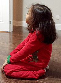 Yoga - Vajrasana for kids