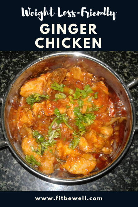 Weight Loss-Friendly Ginger Chicken recipes