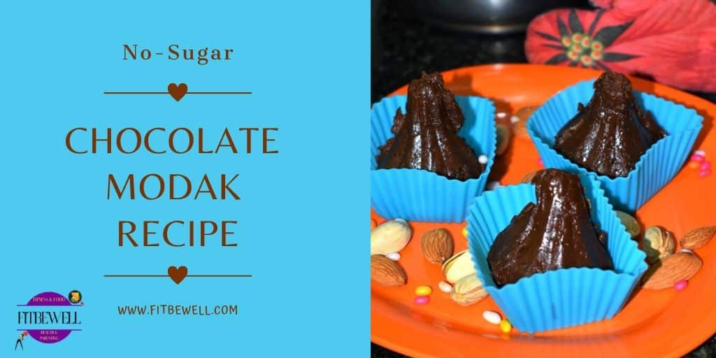 No-Sugar Chocolate modak recipe
