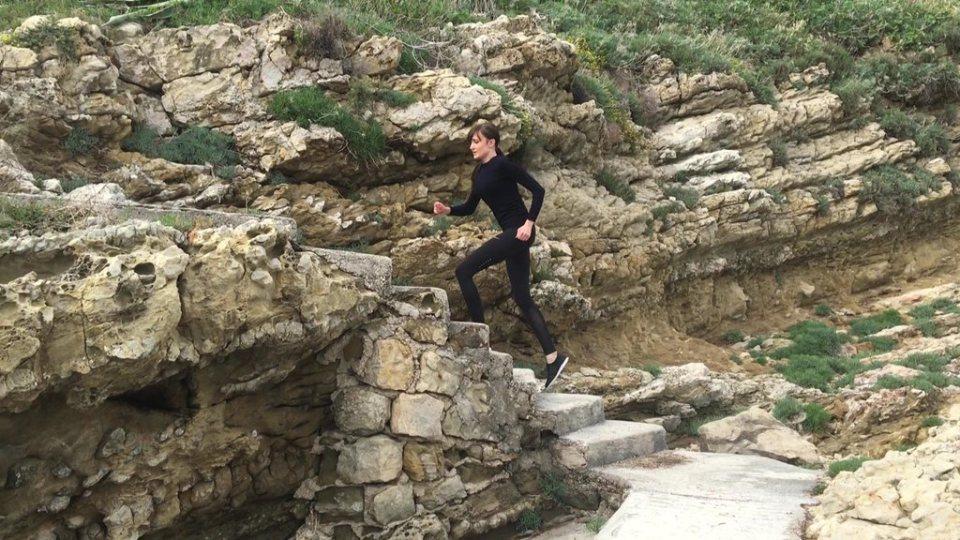 Wbieganie po schodach Stair climbing