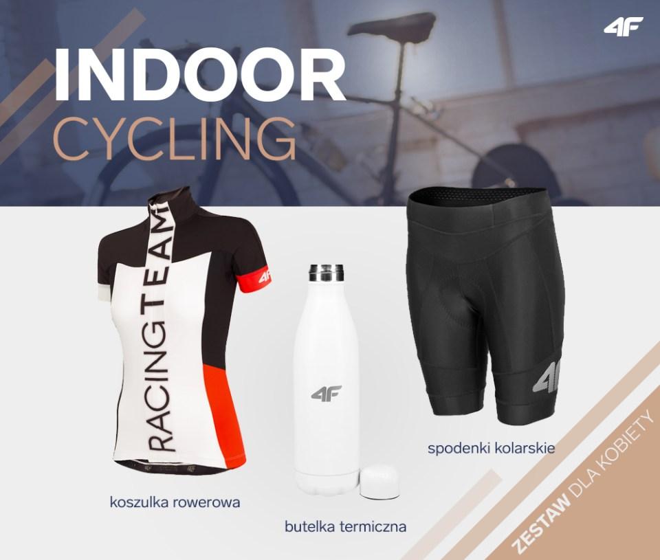 indoor-cycling zestaw dla kobiety