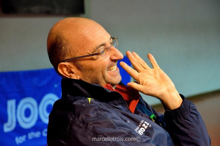 Il tecnico della Marcozzi Sandro Poma (Foto Marcello Trois)