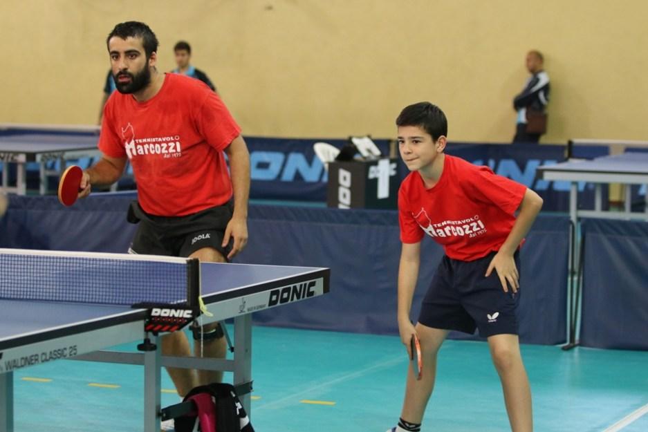 a dx Carlo Rossi con il suo allenatore Stefano Curcio (Foto Gianluca Piu)