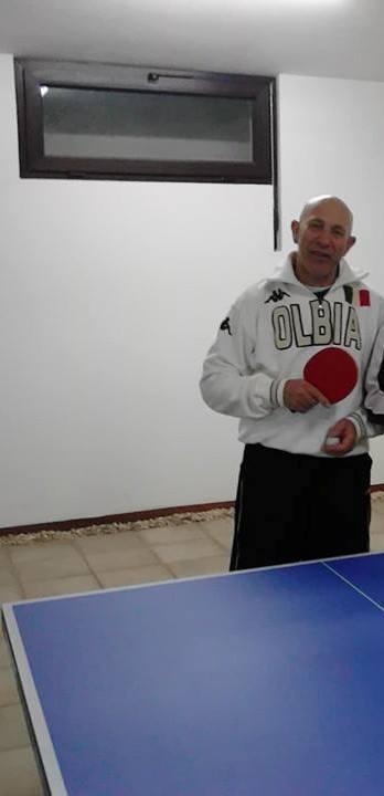 Antonio Rossi del Tennistavolo Olbia