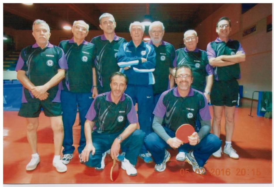 I team completi della Fintes A e Fintes B