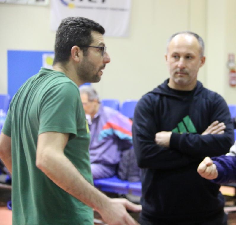 Gianni Pintus e Ignazio Piras (Foto Gianluca Piu)