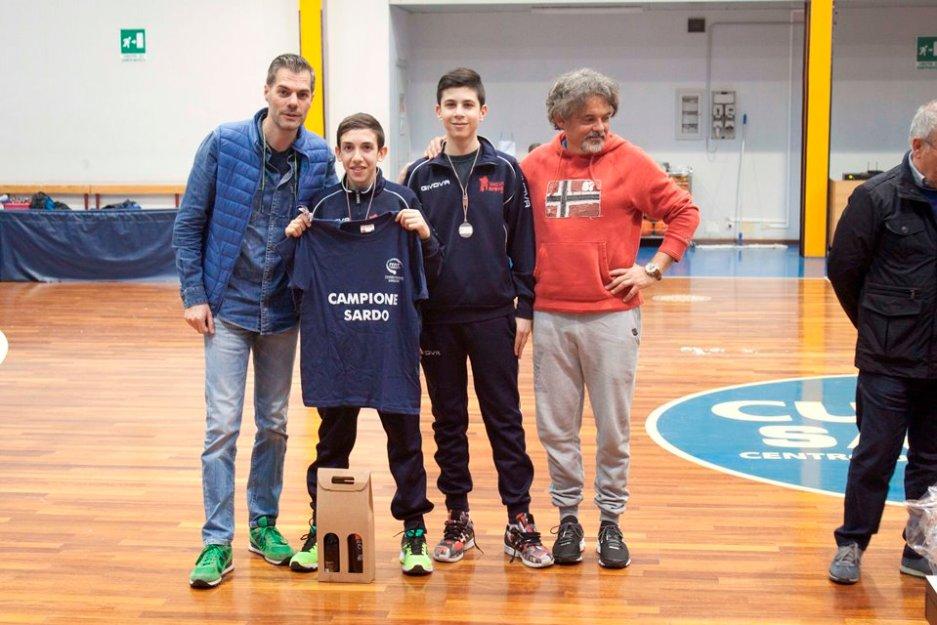 Il podio dei Quarta Maschili (Foto Andrea Zuccato)