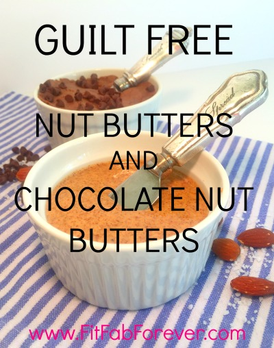 Guilt Free Nut Butters & Chocolate Nut Butters
