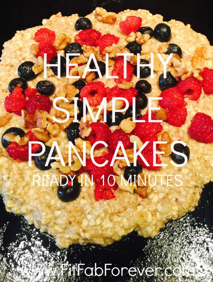 The healthiest and most delicious pancakes ever
