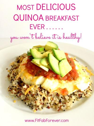 Most Delicious Quinoa Breakfast Ever